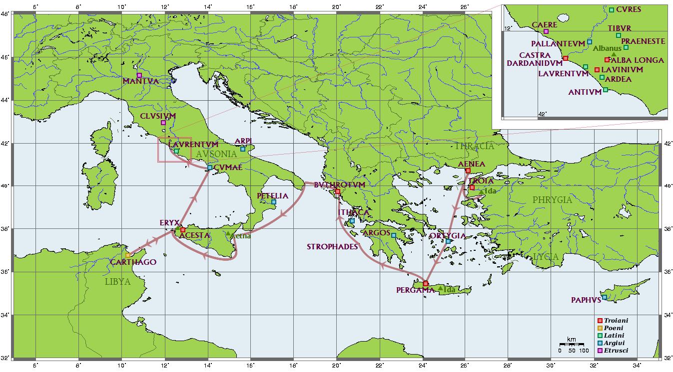 Itinerario de Eneas
