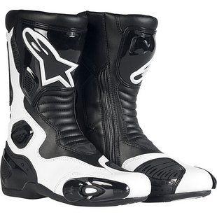 Alpinestars Stella S Mx 5 Boots Size 36 In Black White Women S Motorcycle Boots Motorcycle Boots Boots