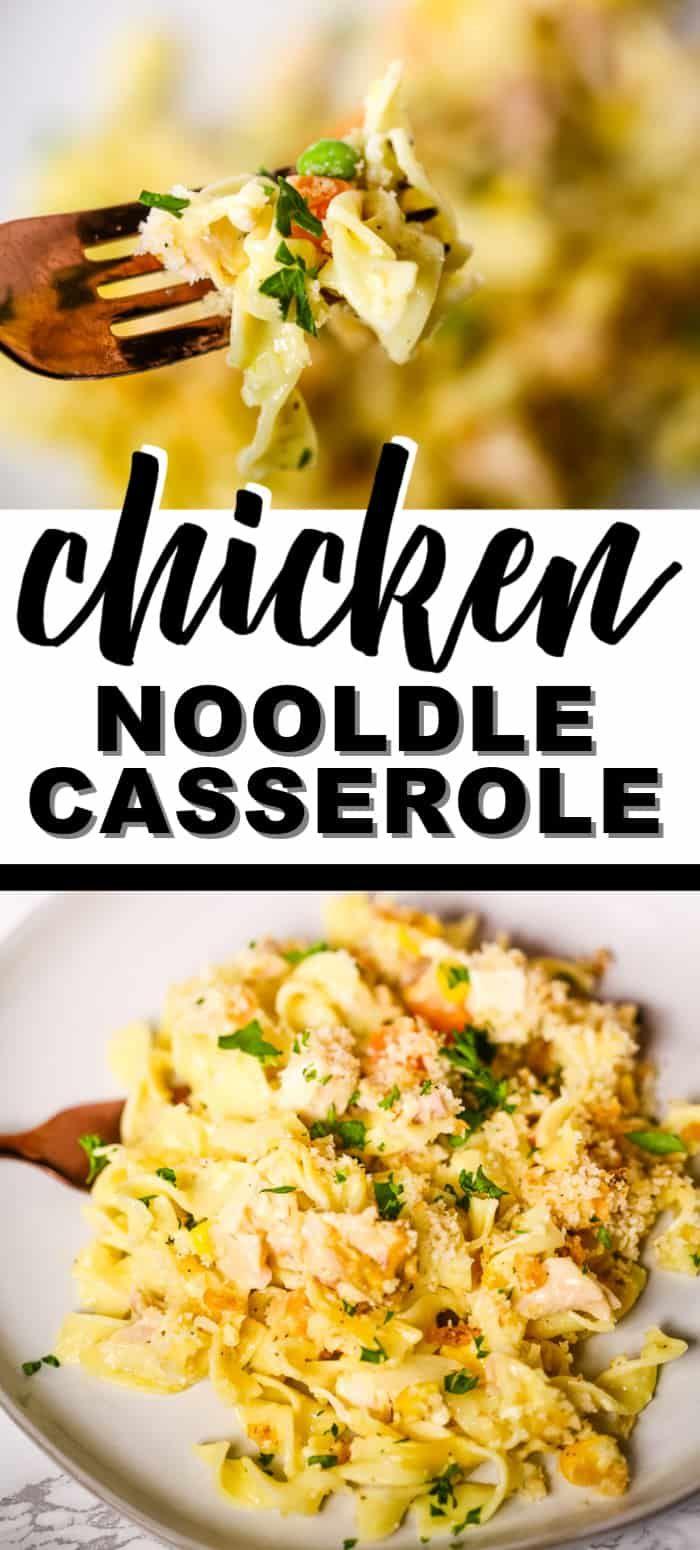 Creamy Chicken Pasta Recipe Casserole | It Is a Keeper