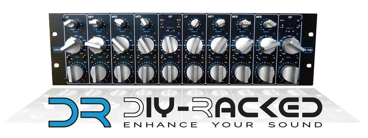 DR-MQ5 EQ Sontec / GML Clone | Studio gear I own | Diy rack, Audio
