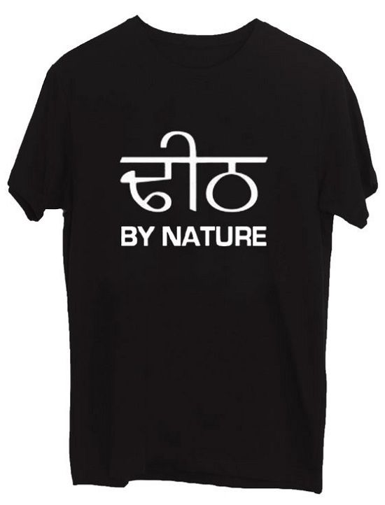 9637a2842 Buy PUNJABI DHEETH BY NATURE T-SHIRT PRINT Cotton Men's T-Shirt online at  best price in India.