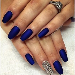 Just Stumbled Across This Cool Page For Curld Blue Acrylic Nails