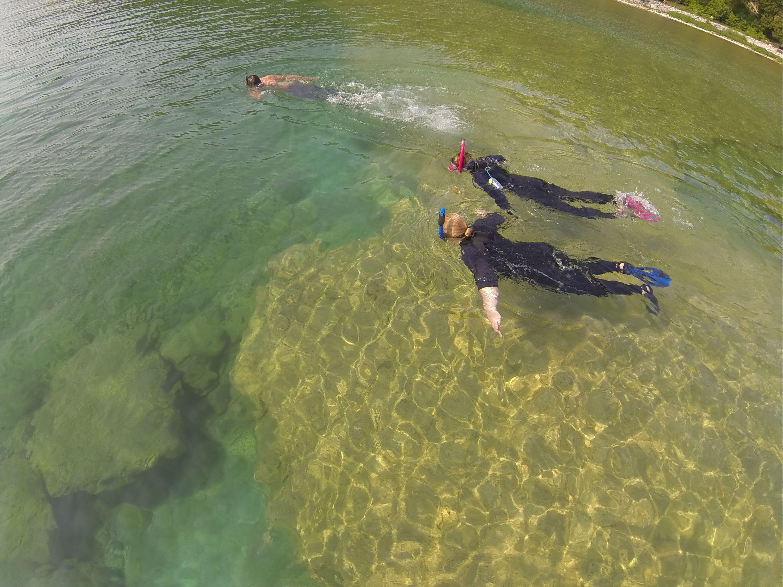 Snorkel Kayak Tours To The Rock Maze Arch Rock And The East Side Of Mackinac Island Michigan On Lake Huron Http Mac Mackinac Island Kayaking Kayak Tours