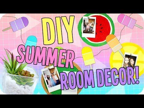 Diy Summer Room Decor Cute Affordable Tumblr Inspired Decor