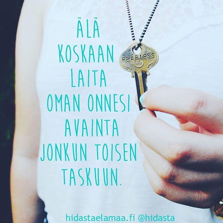Missä sinun onnesi avain on juuri nyt? 💖 #onni #onnellisuus #opettelu #onnenavaimet #itsearvostus #omavoima
