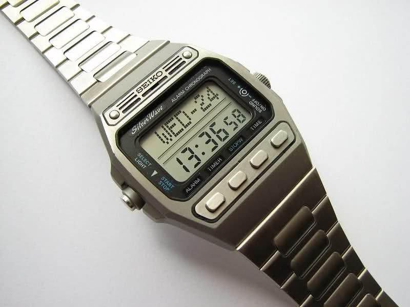 da268bb07 Seiko LCD vintage, D229 | watches- vintage lcd/led | Casio watch ...