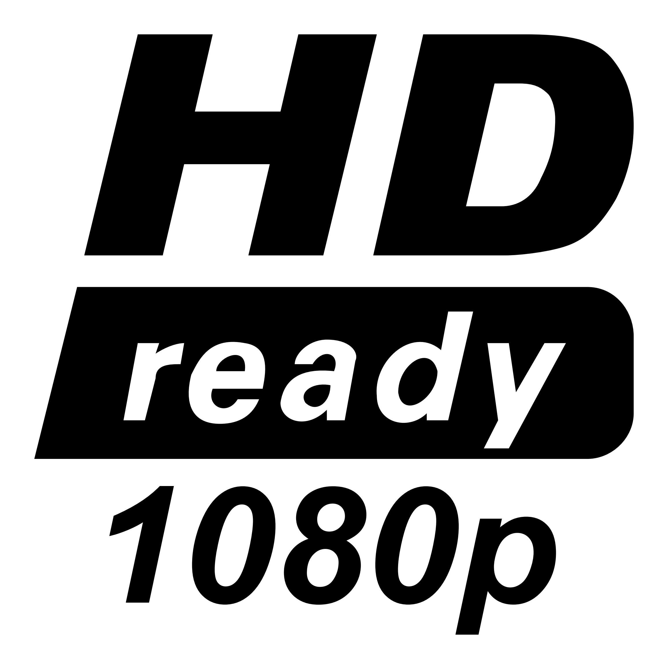 HD and HDTV Logos(이미지 포함)