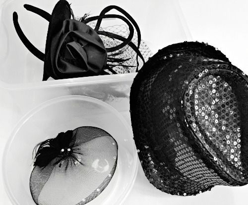 Hats & Hair Accessories For Dance Performances Here's a quick tip as you prepare for your upcoming dance performances.  We all know it's important to keep hats and hair accessories looking their best.  If your dancer has a hairpiece such as a bow or flower, placing them in a garment bag will flatten them especially if it has other costum