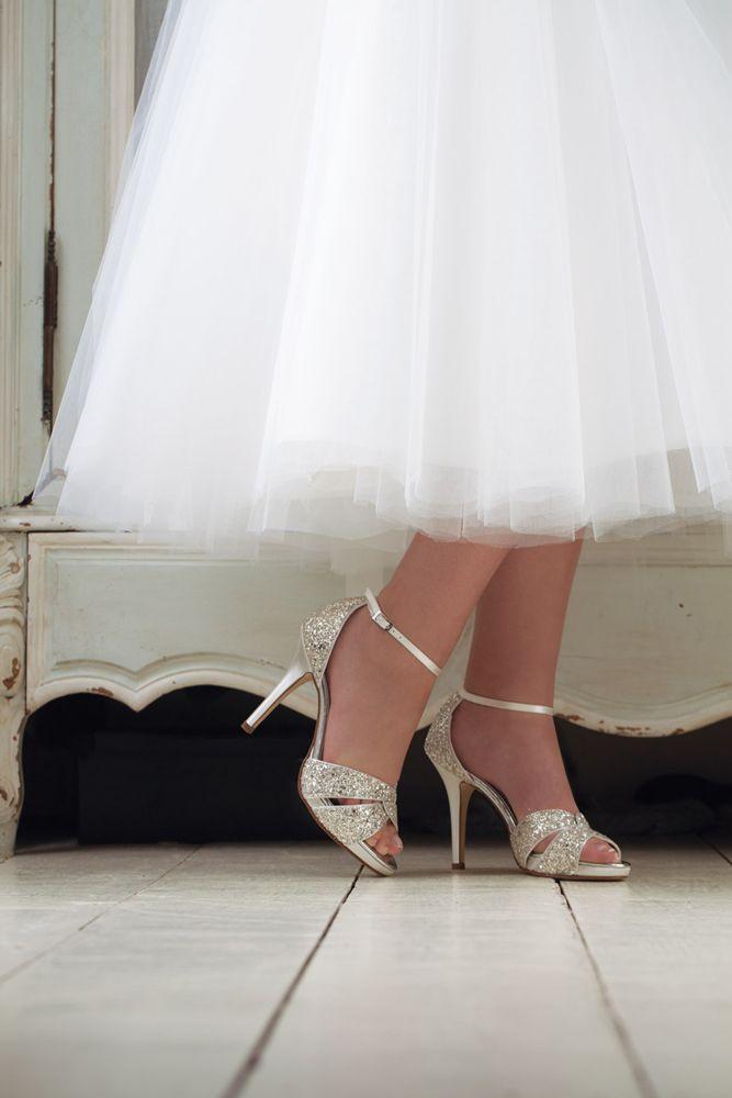 Charlotte von Rainbow Club  Brautschuhe  Brautschuhe Braut und Brautschuhe glitzer