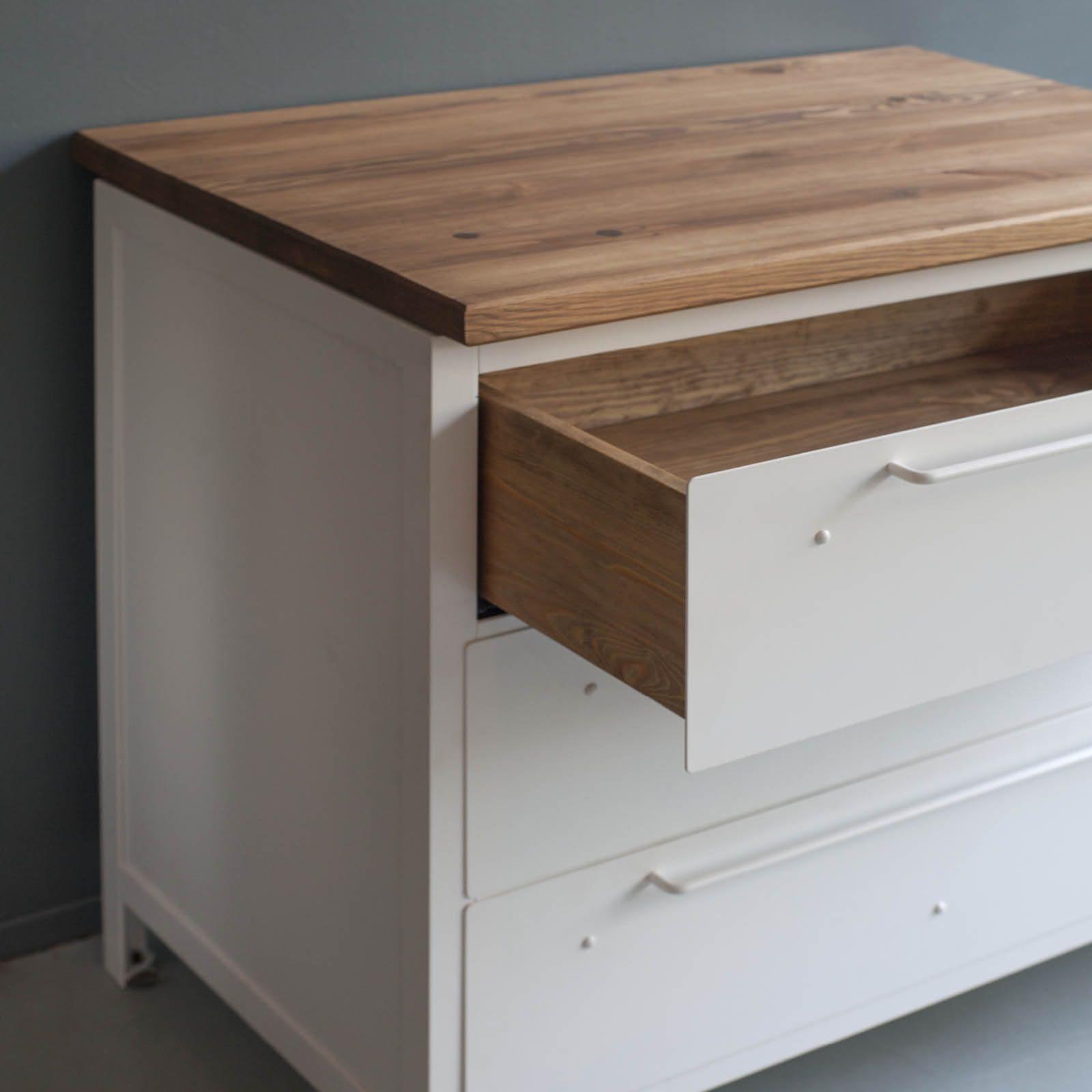 Schubladenschrank B Aus Stahl Und Holz Im Industrie Stil Jetzt Kaufen Schubladenschrank Schubladen Schrank