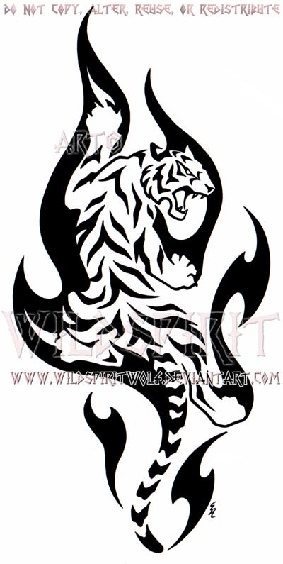 Climbing Flame Tiger Design By Wildspiritwolf On Deviantart Tiger Tattoo Design Tiger Tattoo Tiger Silhouette