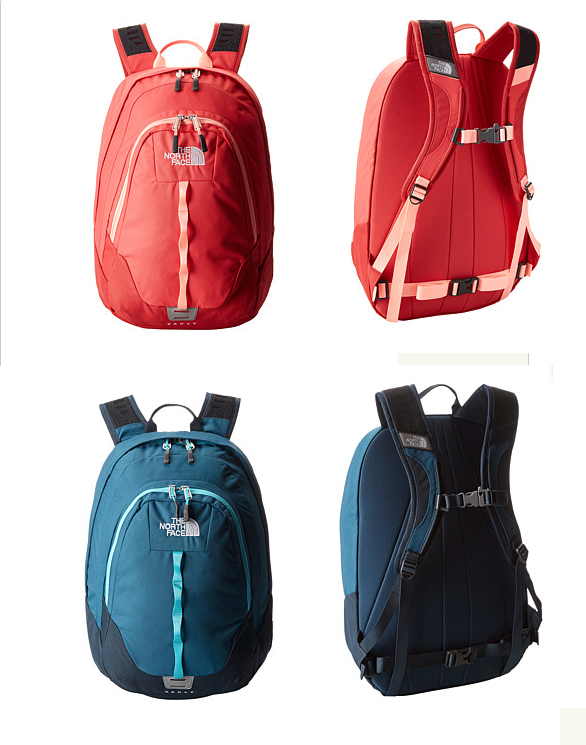 The North Face Women's Vault Premier Backpack Bookbag. Girls back ...