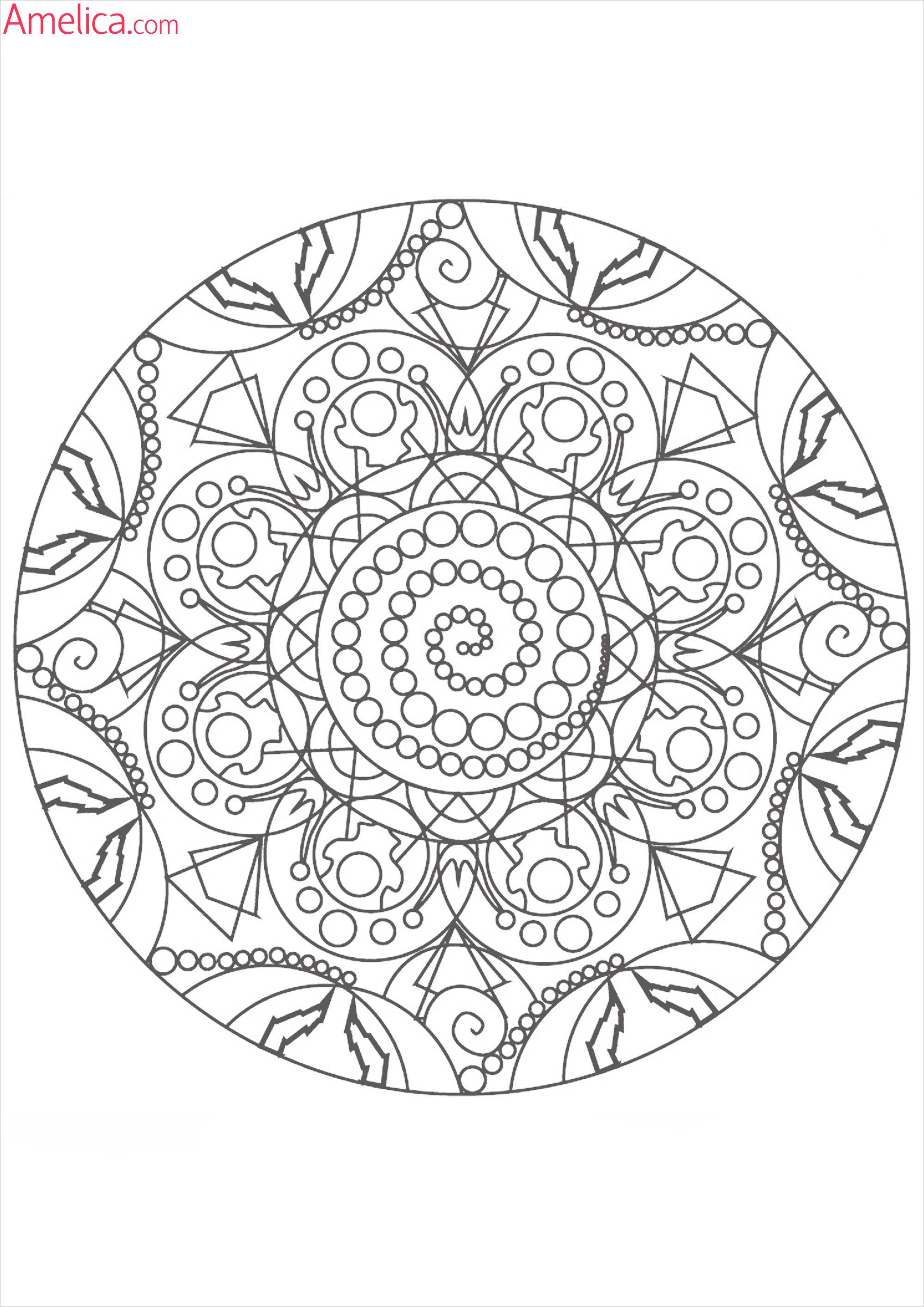 мандалы для раскрашивания скачать, Mandala Coloring ...