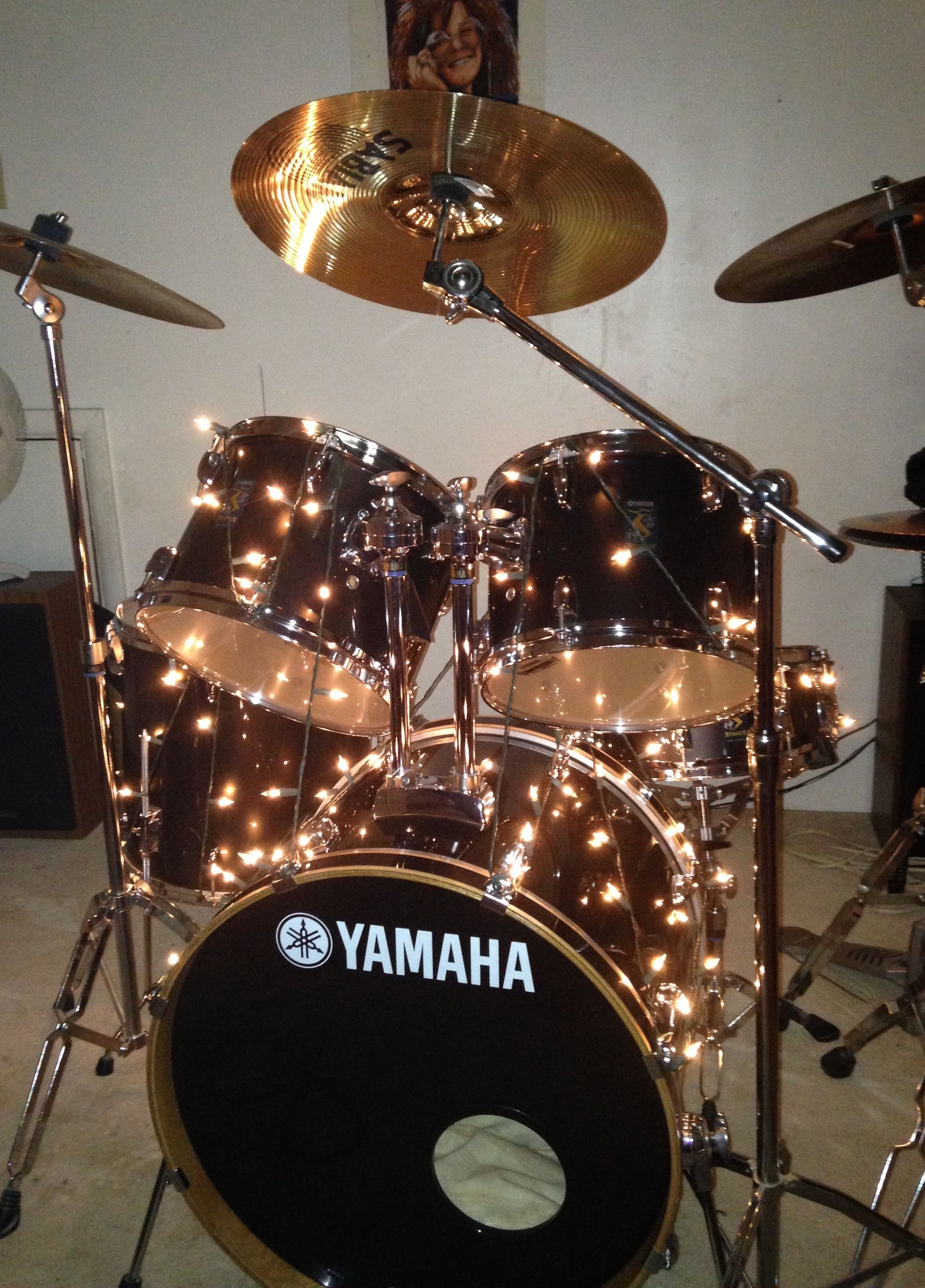 My Love My Passion Yamaha Rydeen 5 Piece Set 12 Tom 13 Tom 14 Snare 16 Floor Tom 22 Kick Cymbals 20 Percussion Drums Yamaha Drums How To Play Drums