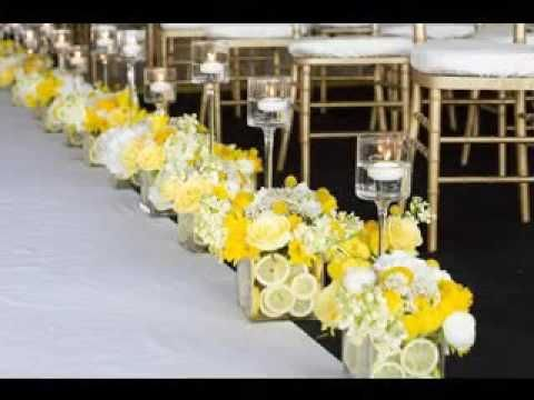 DIY Wedding aisle decorating ideas #kuchentisch