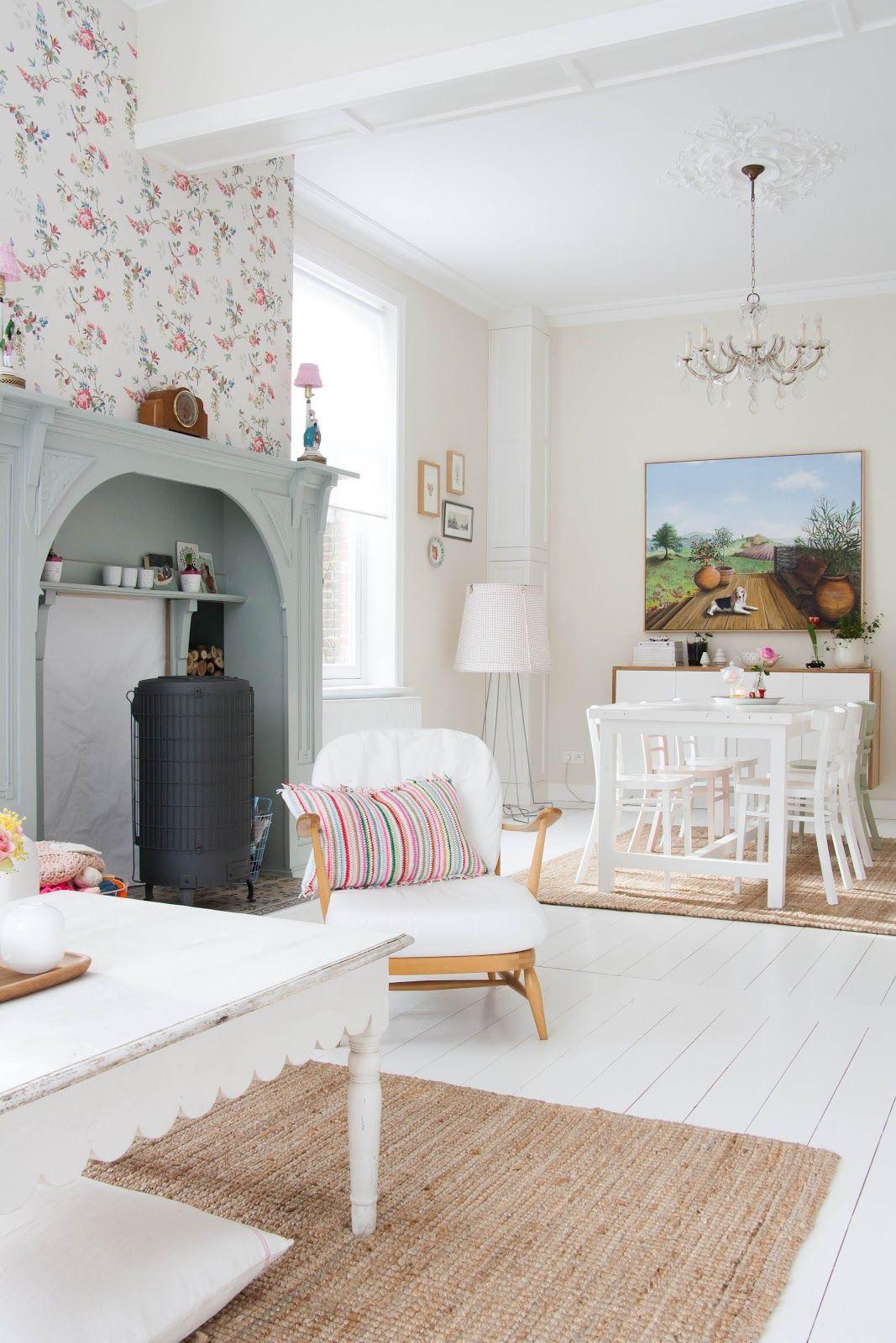 Un hogar nórdico y romántico | Decorar tu casa es facilisimo.com