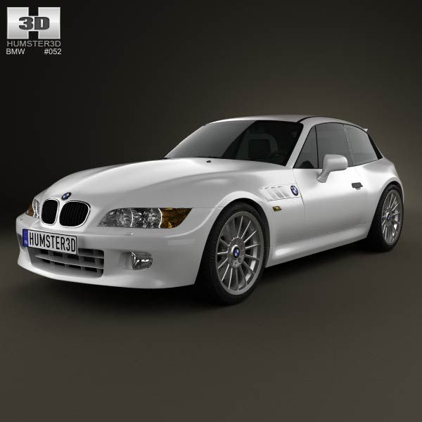 BMW Z3 Coupe (E36/8) 1999 3d Model From Humster3d.com