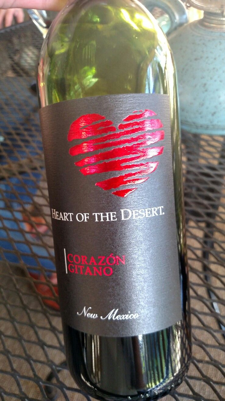 Heart Of The Desert Corazon Gitano Heart Of The Desert Wine Bottle Bottle
