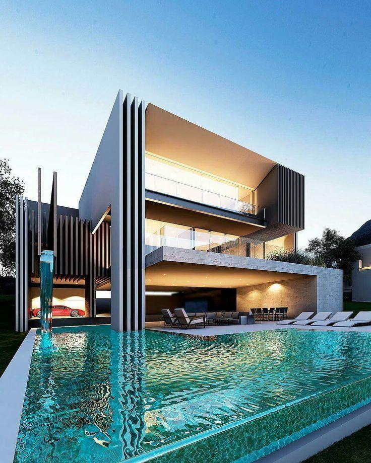 Photo of Hintere Fassade, Villa in Bearbeitung … von Creato