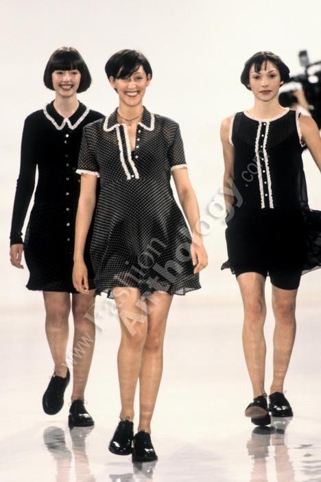 DKNY Spring Summer 1994 New York  - designer Donna Karan