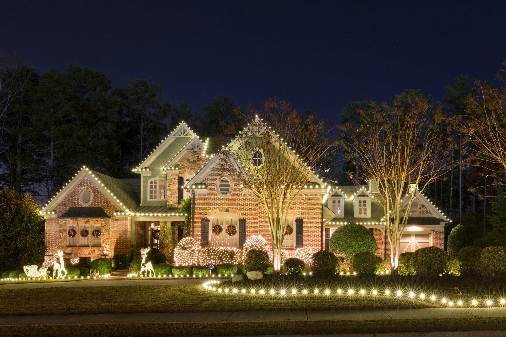 Professional Christmas Light Installation | Professional ...