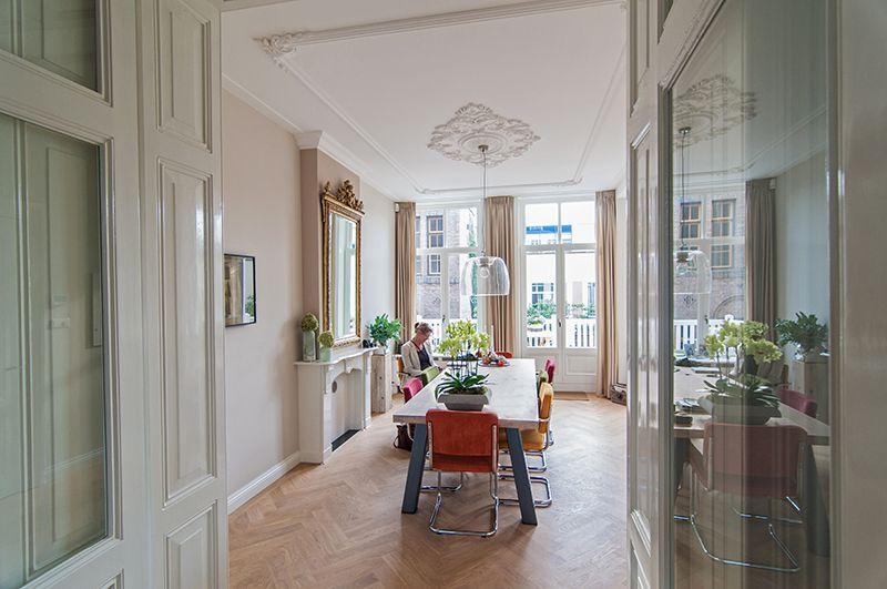 Modern Interieur Herenhuis : Totale renovatie herenhuis in vondelbuurt amsterdam at home