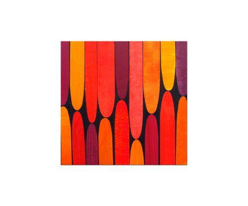 boho art, painted paper art, painted paper art projects,