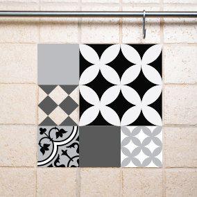 Decorative Tile Stickers Bathroom Mix Tile Decals Kitchenbathroom Tiles Vinyl Floor Tiles Free