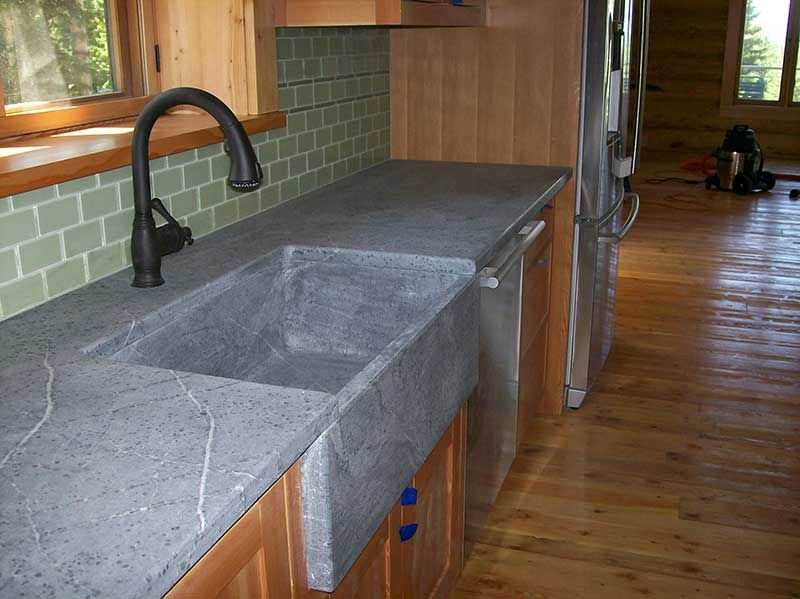 Soap-stone-kitchen-sink | finishes for house | Pinterest | Stone ...