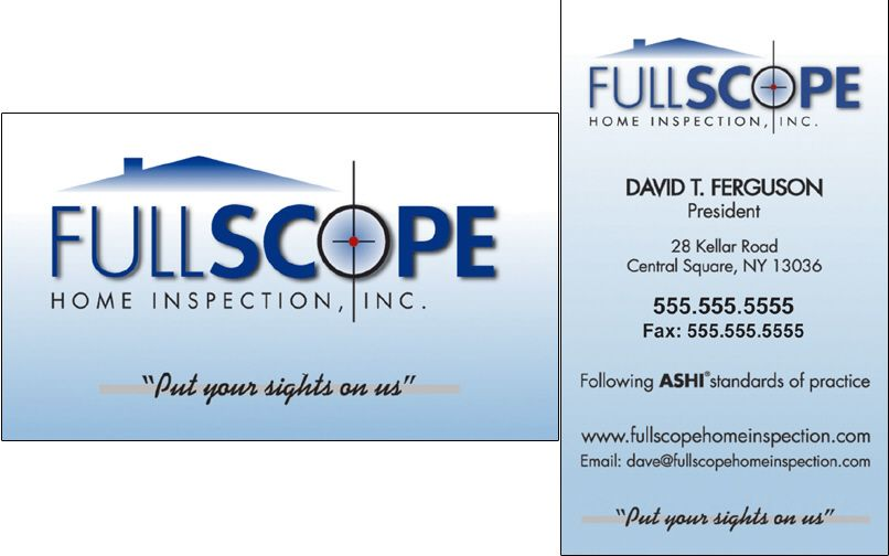 Home Inspection Business Cards Termite Inspection Business Cards Custom Color Home Appraiser Business Card Business Card Design Custom Business Cards Custom