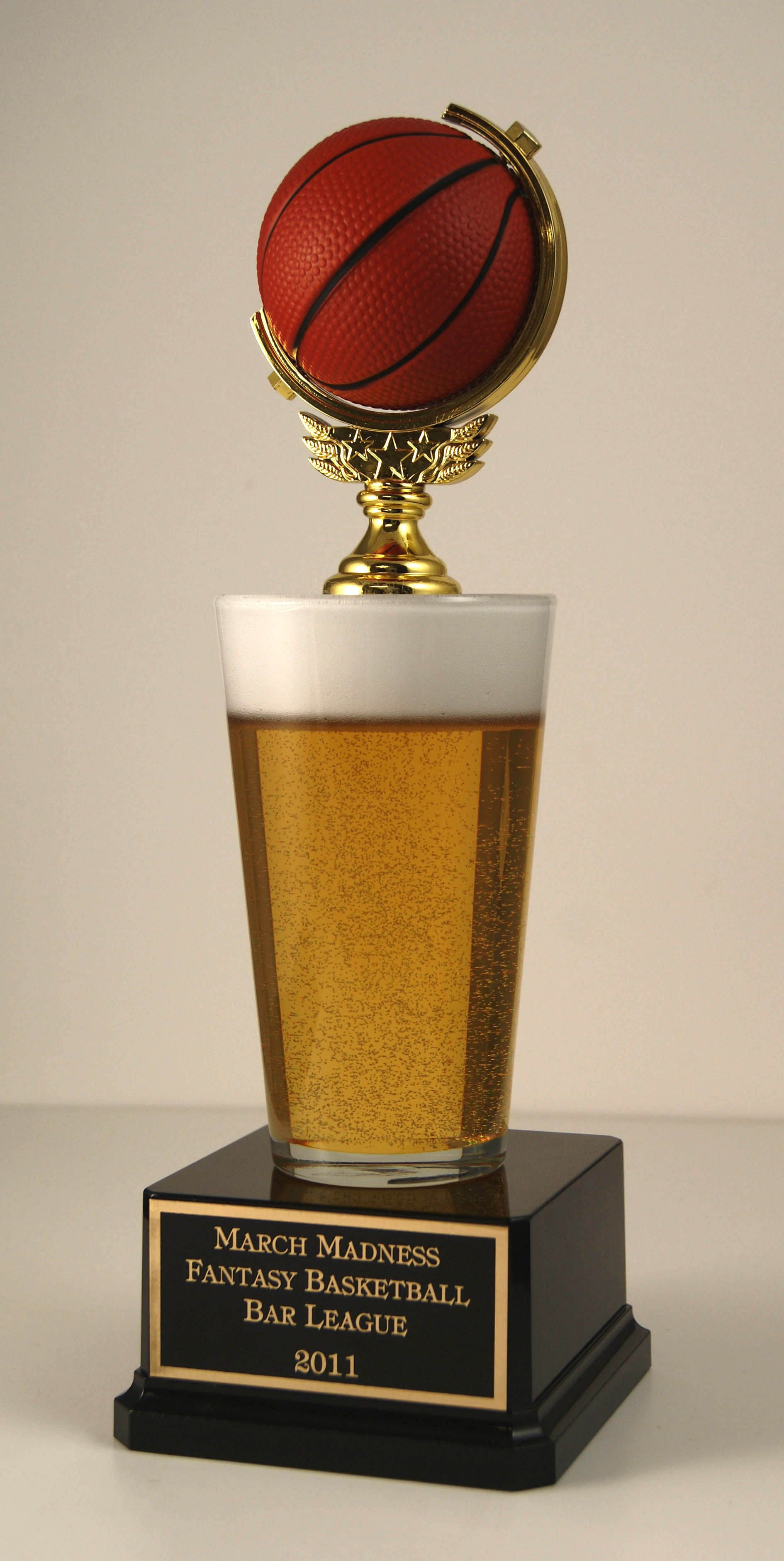 Fantasy Basketball Trophy | Far Out Sports Trophies