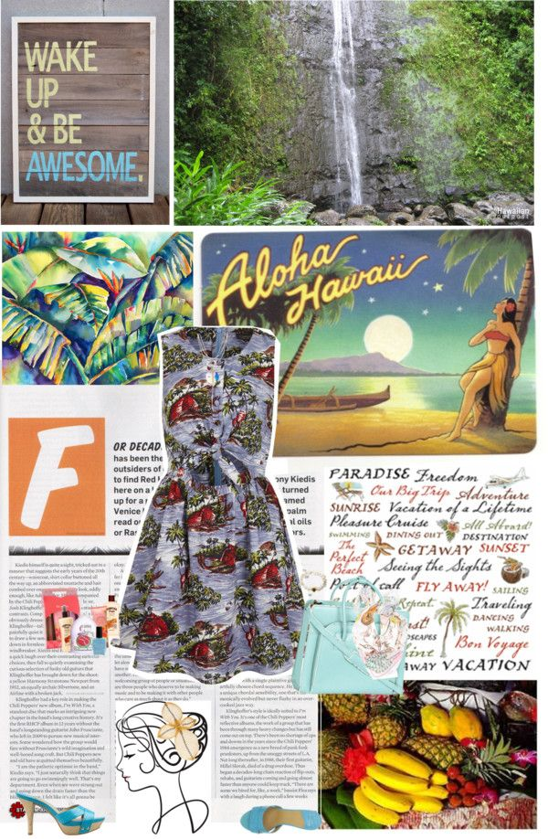 """Aloha"" by valc5 ❤ liked on Polyvore"