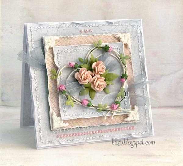 Slubna Floral Cards Cards Handmade Valentines Cards