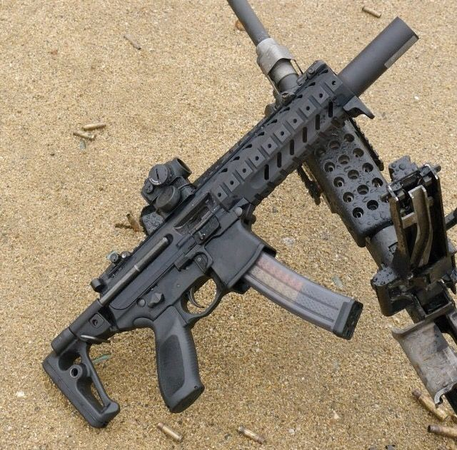 mpx k add a suppressor and this might beat the mp5 for me guns