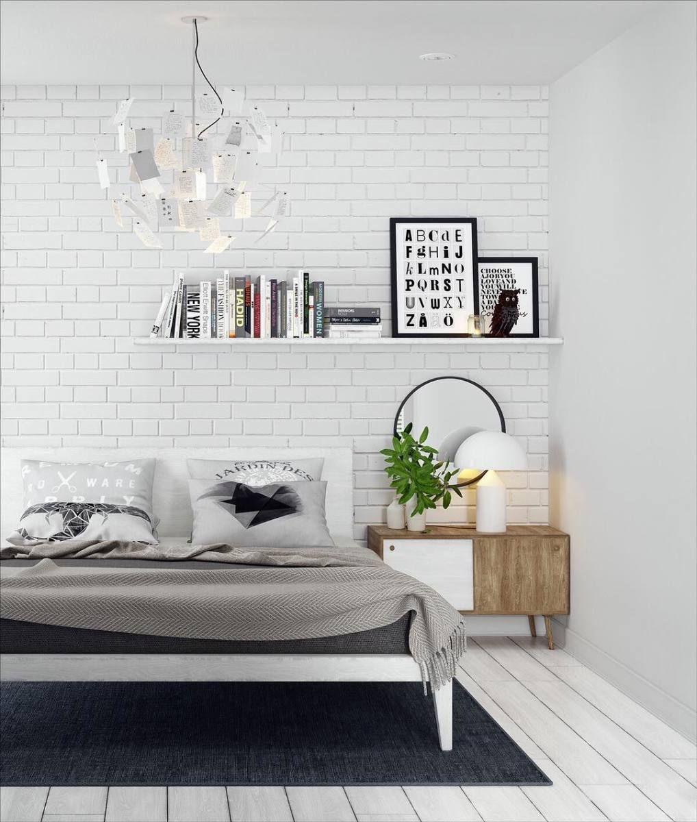 Random Inspiration 301 Brick Wall Bedroom Brick Interior Wall White Brick Wallpaper Bedroom
