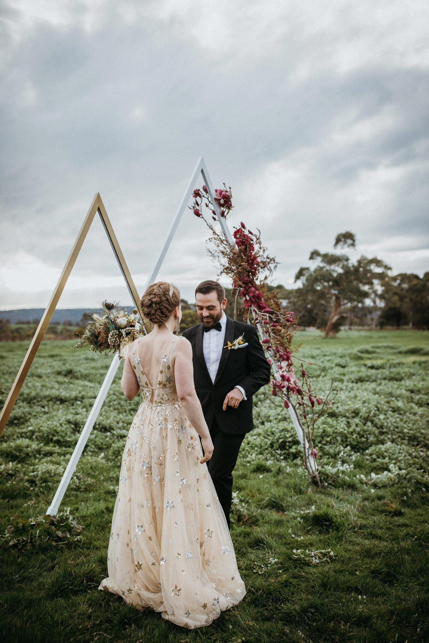 LaurenAnne & Mark's Shimmering Elopement (gifted by their