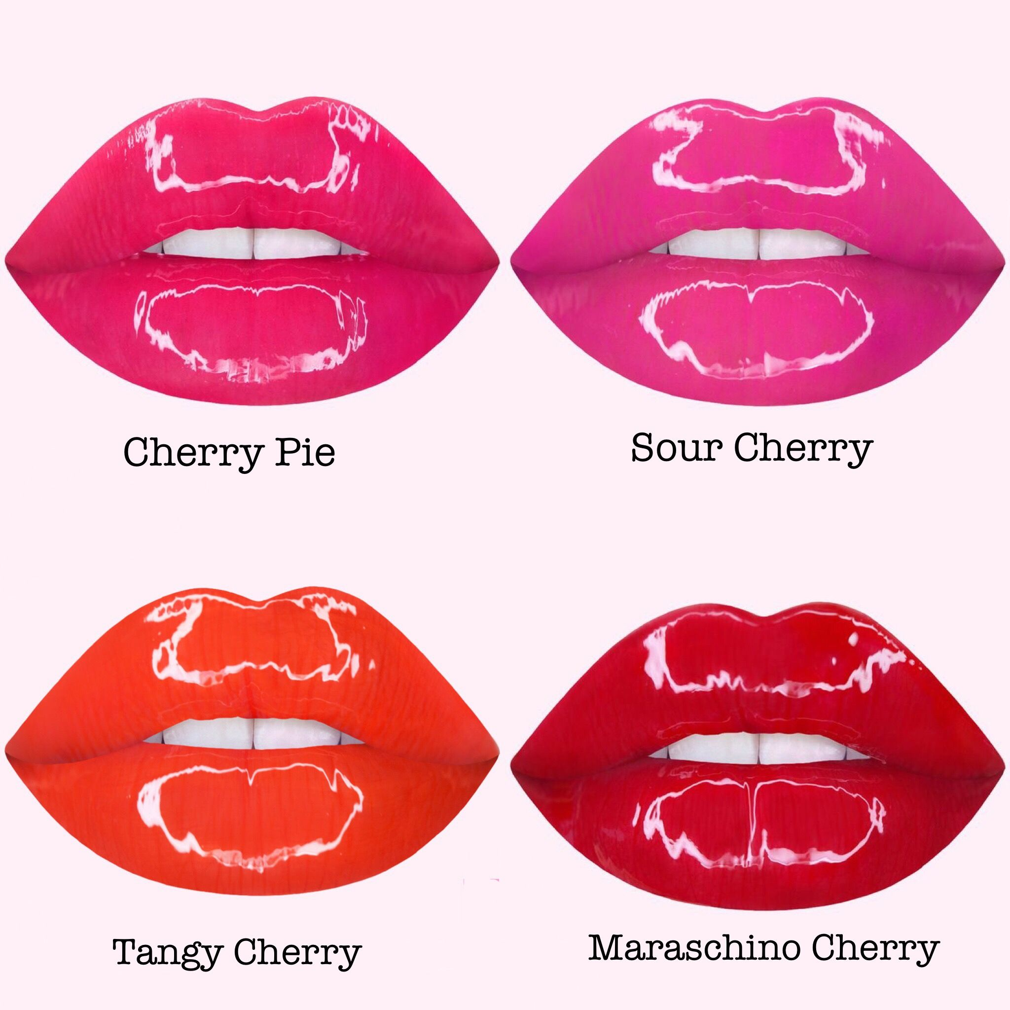 Lime Crime Wet Cherry Gloss Cosmetic Wishlist Lip Drawing