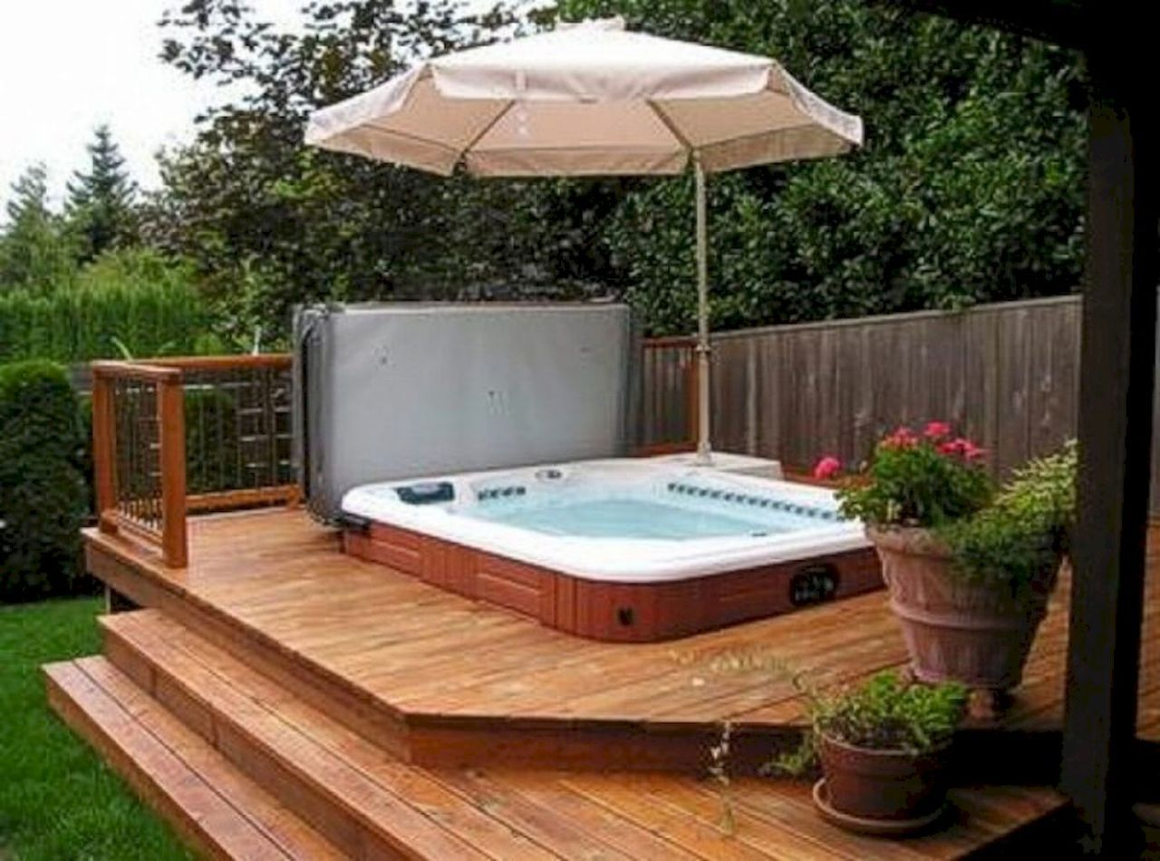 70 Creative Diy Backyard Privacy Ideas On A Budget Hot Tub Backyard Hot Tub Designs Hot Tub Patio