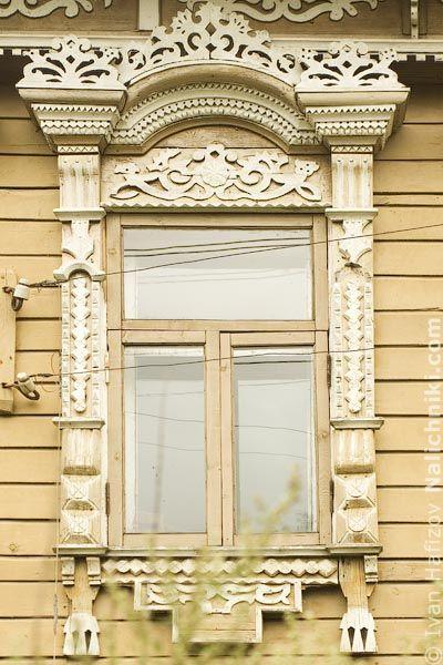 Резной наличник Поселка Борисоглебского №1