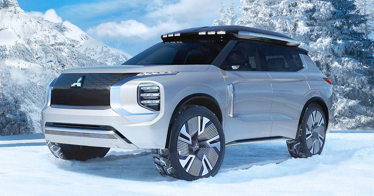 Mitsubishi Engelberg Tourer Concept Is A Boxy Plug In Hybrid Crossover Roadshow