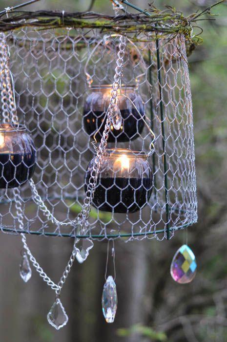 Outdoor Chandelier Diy Crafts Unleashed Outdoor Chandelier Diy Chandelier Wire Chandelier