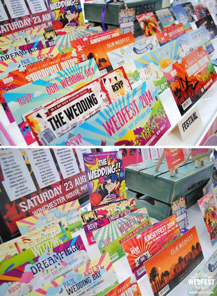 quirky wedding invitations wedfest - http://www.wedfest.co/quirky ...