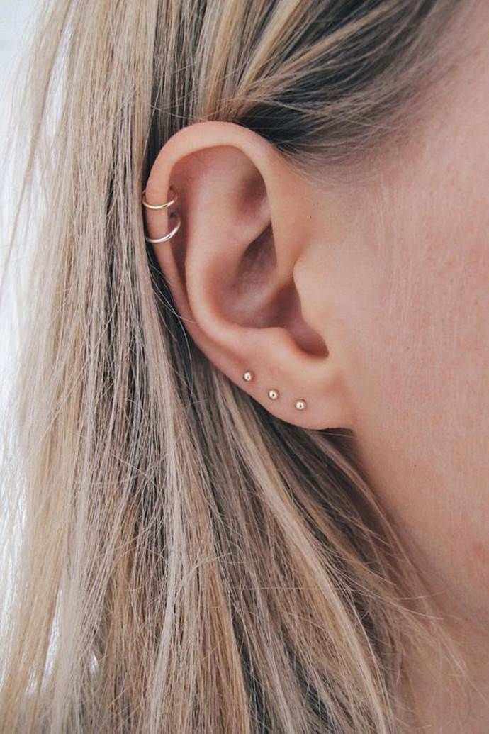 16 Helix Ear Piercings To Inspire Your Next Piercing