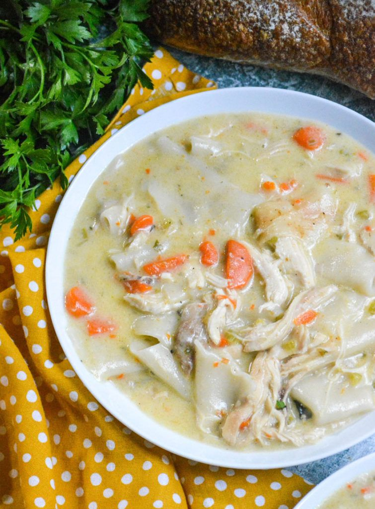 Instant pot chicken and dumplings 4 sons r us recipe