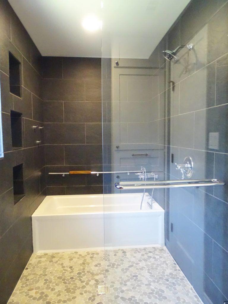 Idea Inspiration Soaking Tub Within Shower Wet E