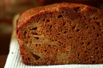 Spiced Anjou Pear Bread