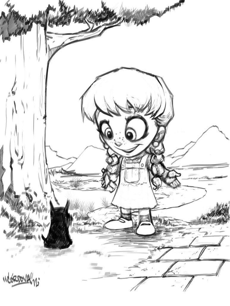 Dorothy and Toto by renecordova | René Cordova | Pinterest | Ranas y ...