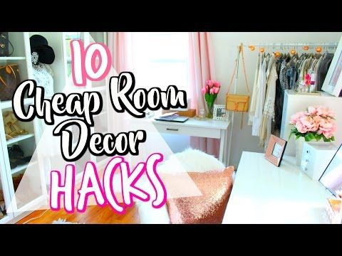 10 Diy Room Decor Life Hacks For Organization Amp Spring