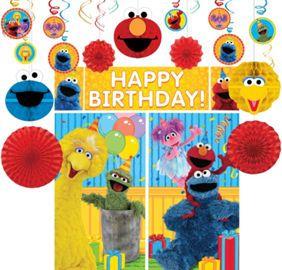 Sesame Street Decoration Kit Party Supplies Decorations Online