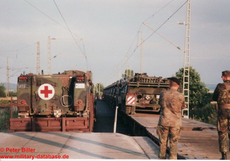 1999 PzBtl 304 - Images of this 72 hours training. Images from the Hahnenkamm barracks in Heidenheim, rail loading near Gunzenhausen and of course Munster.